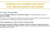 Childcare Handout