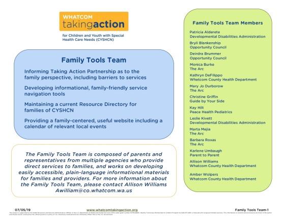 Family Tools Team 2019-10-21