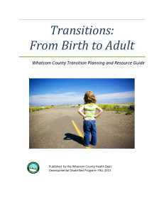 cover Transition Resource Guide 2013