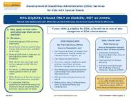 DDA Services:  Why and how to apply