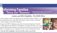 Autism and the DSM Effect
