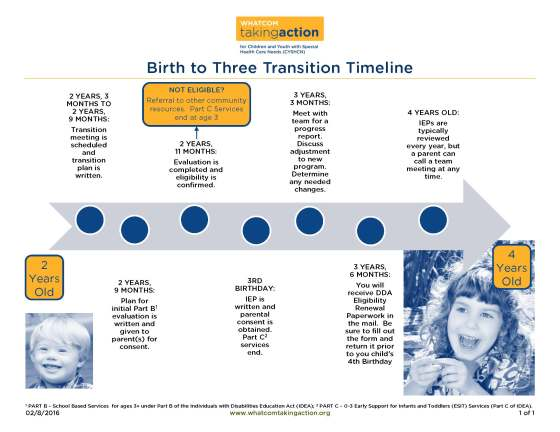 0 to 3 Transition Timeline 2016-02-08