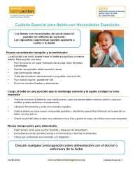Cuidado Especial para Bebés con NecesidadesEspeciales