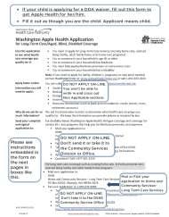 DDA Waiver – Apple Health for Child ApplicationInstructions