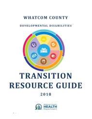 Transition Resource Guide: Birth to Adult